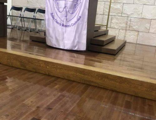 Asia Church Women's Conference一日研修会に参加しました